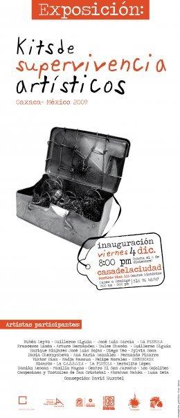Exposicion, kits de supervivencia artisticos